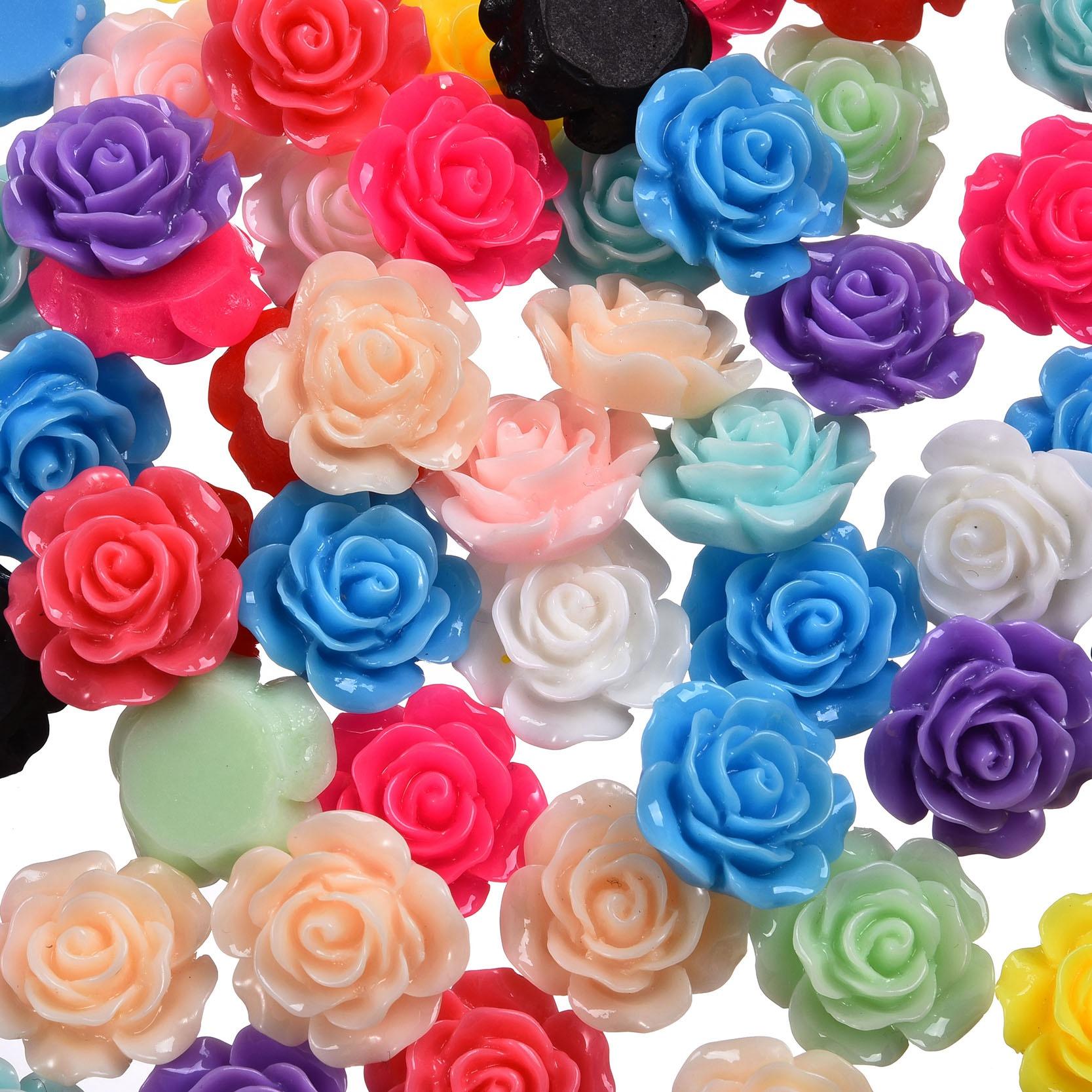 С-ка роза акрил 2 см