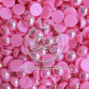 П-сы перламутровые 8 мм, яр.розовые- 2000 шт.