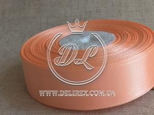 Атлас 0.9 см , светло-оранжевый 174