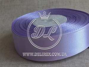 Атлас 0.9 см , светло-фиолетовый 090