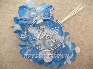 Цветок с жемчугом TF 887 , синий