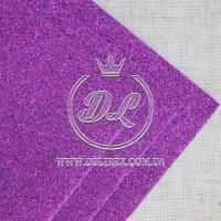 Фом с глиттером, темно-фиолетовый