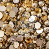П-сы  8 мм, св.золото -2000 шт.