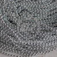 Жемчуг на нитке 3 мм New Year, серебро ( 20 м.)