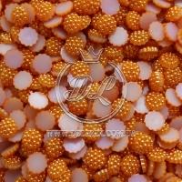 С-ка пупер пластик  1 см, оранжевые