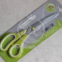 Ножницы для лент K 805, бело-салатовые