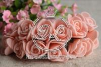 Роза  из Фома 1.5 см, персиковая