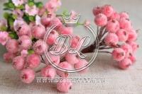 Калина в сахаре , светло-розовая
