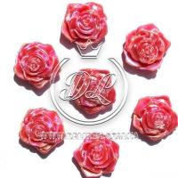 С-ка ТВ роза перламутр, красная (100 шт.)