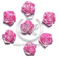 С-ка ТВ роза перламутр, малиновая (100 шт.)