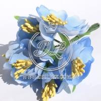 Пион раскрытый  ТВ 0305, голубой