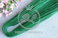 Шнур 1 мм. - зеленый