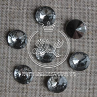 С-ка конус 8 мм, серебро ( 2000 шт.)