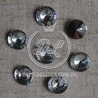 С-ка конус 12 мм, серебро (1000 шт.)