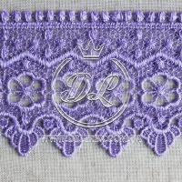 Кружево #10770 св.фиолетоваое