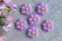 С-ка хризантемка 2 см, светло-фиолетовая