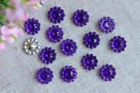 Конус Цветок - темно-фиолетовый