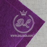 Фетр 2 мм, темно-фиолетовый