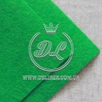 Фетр 1 мм , зелёный