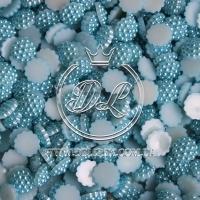 С-ка пупер пластик  1 см, голубой