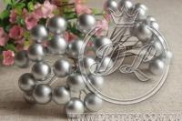 Калина лаковая 12 мм, серебро