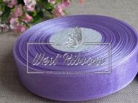 Органза 0,6 см , св.фиолетовая