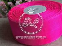 Органза 4 см , насыщенно яр.розовый