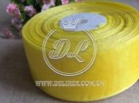 Органза 4 см , желтая