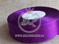 Атлас 2 см , темно-фиолетовый  182