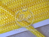 "Тесьма ""Cамоса"" 1.8 см, желтая"