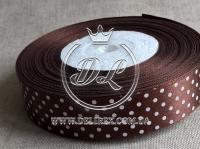 Атлас Горох 0,6 см, коричневый