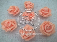 Бутоны роз  # 07 , оранжевые (100 шт.)