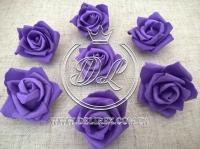 Бутоны роз  # 07 , темно-фиолетовые (100 шт.)