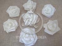 Бутоны роз  # 07 , белые (100 шт.)