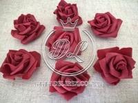 Бутоны роз  # 07 ,бордовые (100 шт.)