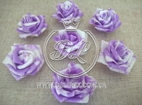 Бутоны роз  # 07 , бело-фиолетовые (100 шт.)