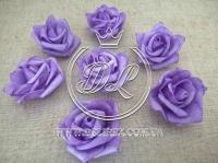 Бутоны роз  # 07 , ср.фиолетовые  (100 шт.)