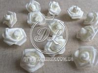 Бутоны роз  # 0105 , белые  (100 шт.)