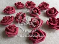 Бутоны роз  # 0105 , бордовые (100 шт.)