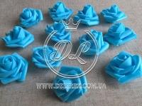 Бутоны роз  # 0105 , бирюзовые (100 шт.)