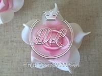 Бутоны роз  # 005 - 7 см , бело-св.розовые