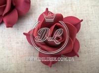 Бутоны роз  # 005 - 7 см , бордовые