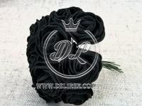 Роза  # 11007 -3 см, черная