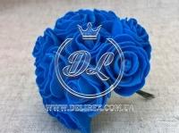 Роза  # 11007 -3 см, синяя