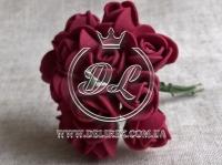 Роза  из Фома 1.5 см, бордовая