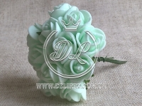 Роза  из Фома 1.5 см, св.мятная