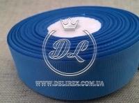 Репс 2.5 см, средне-синий 036