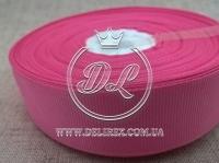 Репс 2.5 см, грязно ярко-розовый