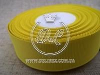 Репс 2.5 см, желтый 015