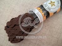 Тесьма Зиг-Заг, коричневая